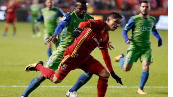 Real Salt Lake 2-0 Seattle: RSL continue playoff push