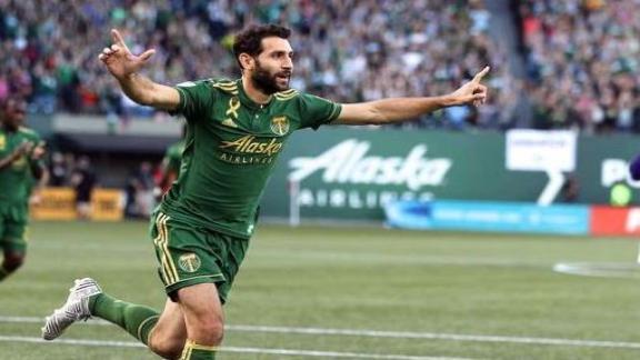 Portland 3-0 Orlando: Valeri bags brace