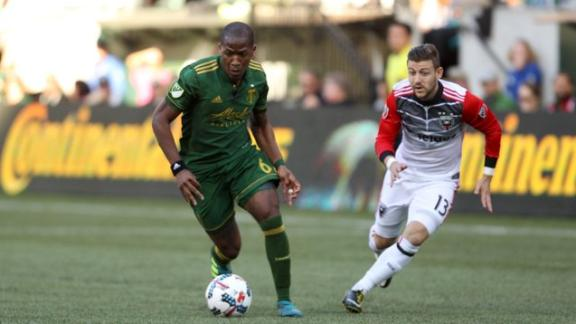 Portland 4-0 D.C. United: Timbers cruise to playoffs