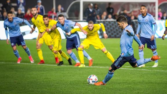 NYCFC 2-0 Columbus: NYC comeback falls short