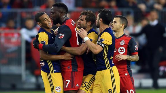 Toronto 0-1 New York: TFC advance after testy affair