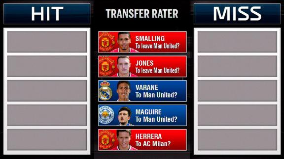 Transfer Rater: Manchester United comings and goings
