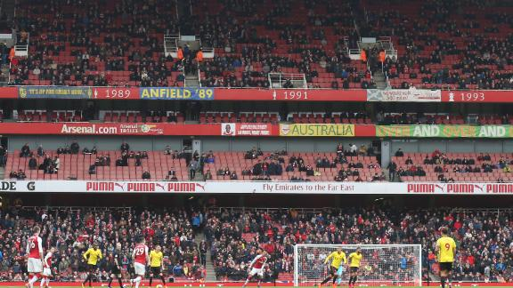 Wenger worried about empty seats at the Emirates