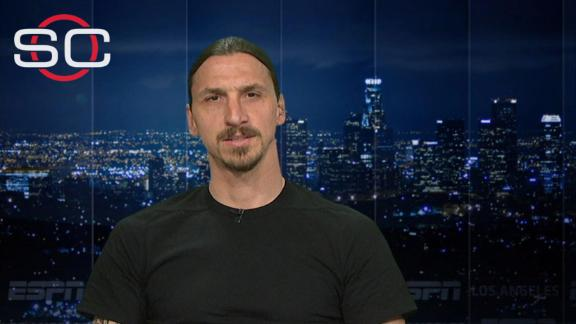 Ibrahimovic: Ronaldo should try it from 40 metres