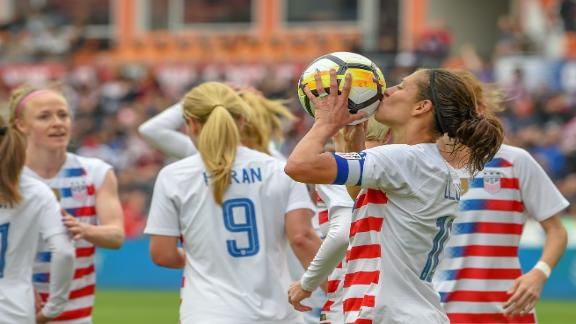 Carli Lloyd scores 100th career goal for USA women's soccer team