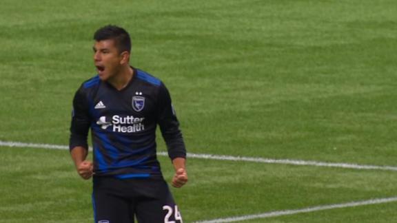 Vancouver 2-2 San Jose: Draw at BC Place - Via MLS