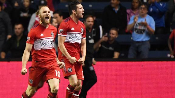 Chicago 2-1 San Jose: Katai leads Fire- Via MLS