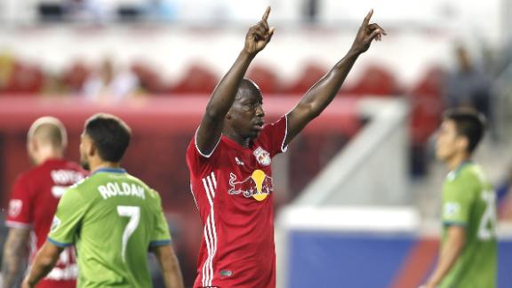 NY Red Bulls 2-1 Seattle: Red Bulls reign