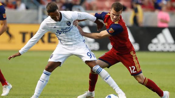 RSL 1-1 San Jose: Hoesen strikes again - Via MLS