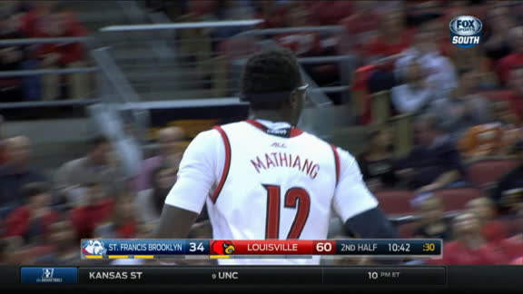M. Mathiang made Jumper. Assisted by D. Mitchell.