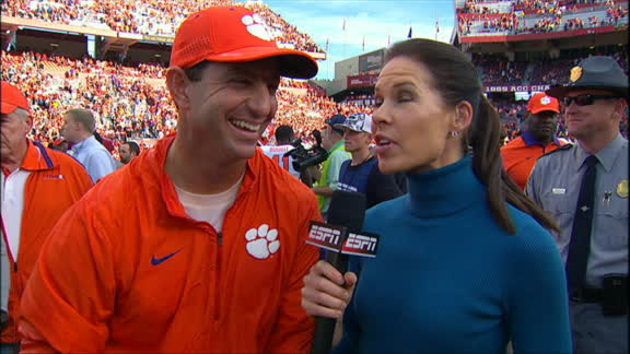 Swinney: 'We got bigger things to do'