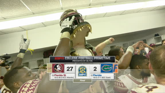 Florida State too overwhelming for Florida