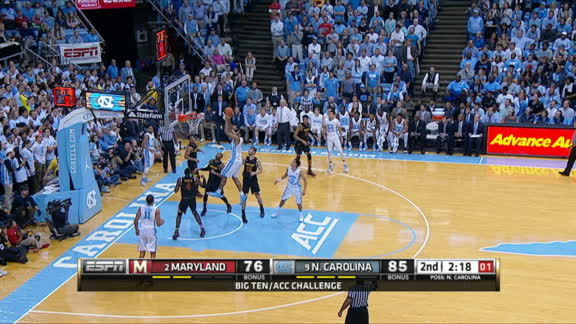 Paige's return sparks UNC to win over Maryland