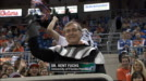 University of Florida President Dr. Kent Fuchs dressed up as Darth Vader for Star Wars night
