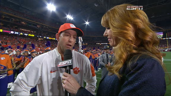 Swinney: Both teams playing their tails off