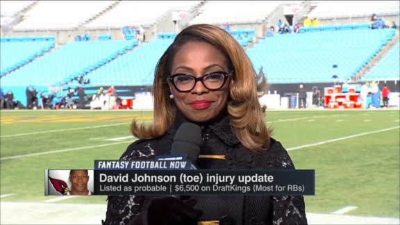 Video - How limited will Johnson, Brown be vs. Panthers?