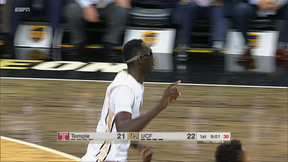 7-foot-6 Tacko Fall tips in with ease