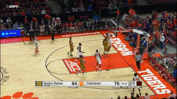 J. Roper steal. J. Blossomgame made Layup. Assisted by D. Grantham.