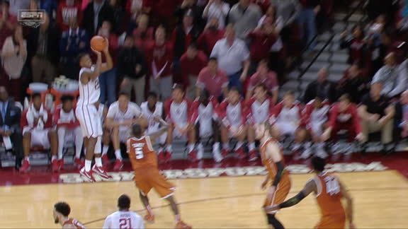 Hield's 3 caps Sooners' comeback over Longhorns