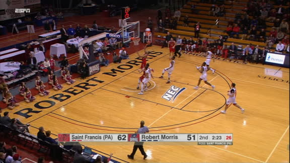 G. Brown made Layup. Nice coast-to-coast transition for the Senior.