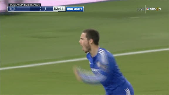 WATCH: Hazard's sensational equaliser