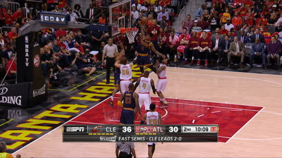 Shumpert puts one back emphatically