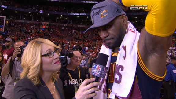 LeBron: I knew I had to bring my game tonight, I am humbled