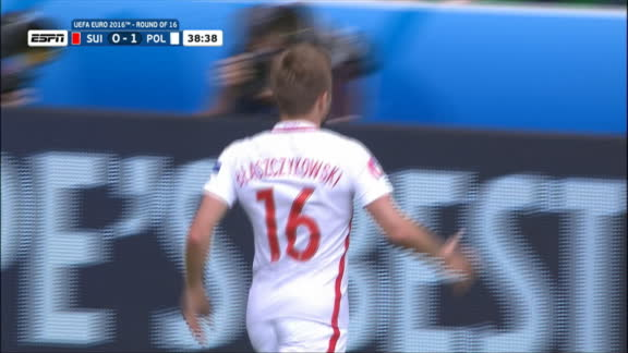 Euro: Blaszczykowski goal -- Poland (39')