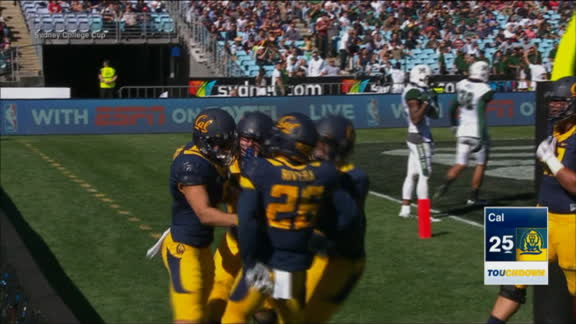 Chad Hansen's second TD puts Cal up 27-14