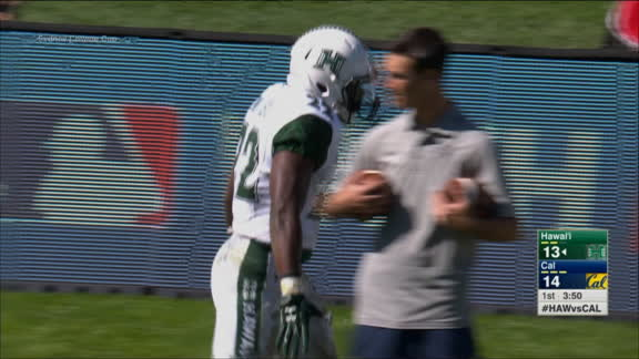Hawaii takes off for 53-yard TD