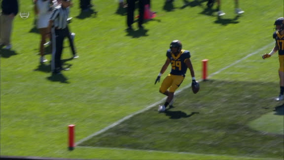 California scores first TD of season