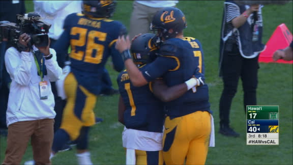 Webb leads Cal past Hawaii in CFB season opener