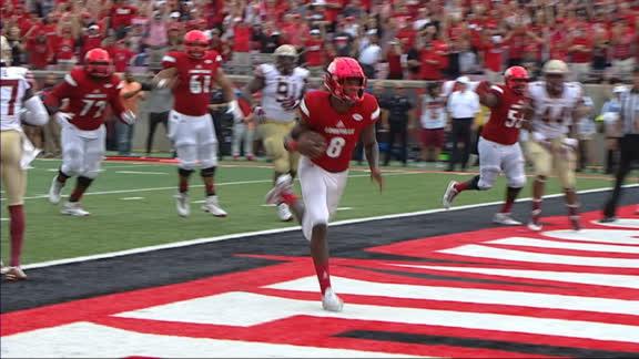 Jackson Runs Through Fsu Defense For Touchdown Espn Video