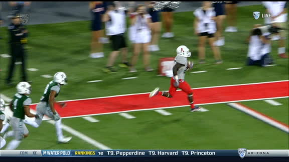 Arizona extends lead with 61-yd TD