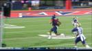 Brandon Dawkins with huge 4th Quarter run