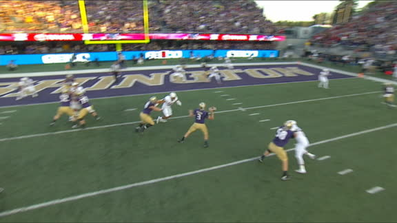 Washington scores on their first drive