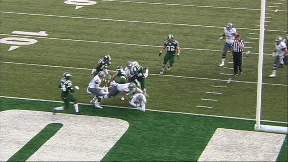 Porter refuses to be denied the end zone for EMU