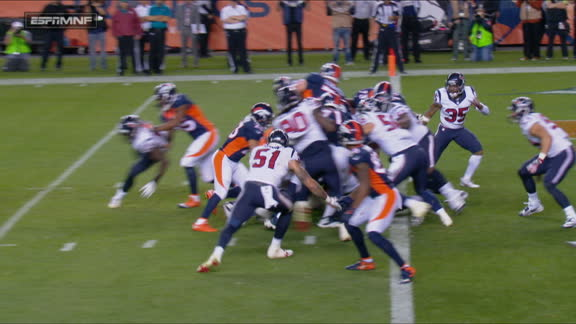 Follow live: Booker's 1-yard TD extends Denver's lead