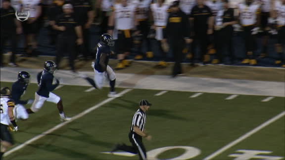 App State forgets how to snap... and gives up a 90-yard TD in the process