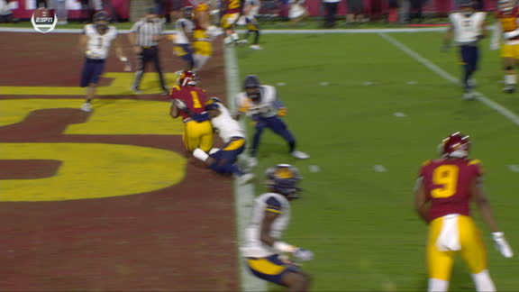 Cal strikes back quickly off turnover to cut in to USC's lead
