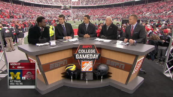 Harbaugh was brought to Michigan for this game - ESPN ...