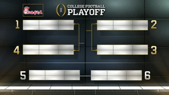 Bama, Clemson, OSU, Washington picked for CFP