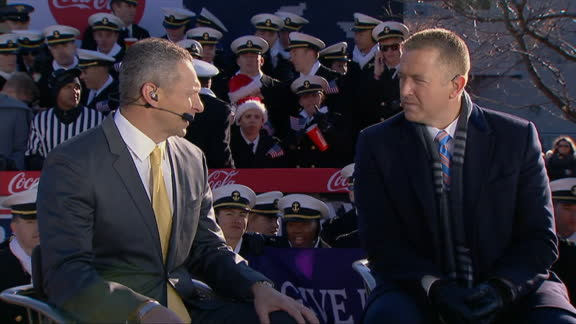 Monken says Army can't let emotion get the best of them