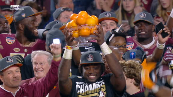 Cook is named Capital One Orange Bowl MVP