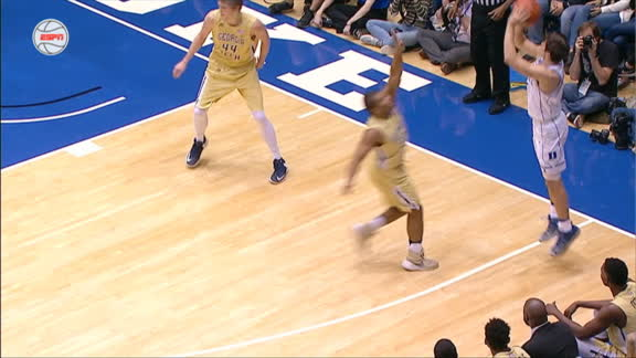 Allen skillfully completes 4-point play