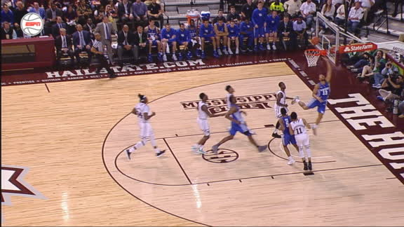 Kentucky's Briscoe scores quick transition layup