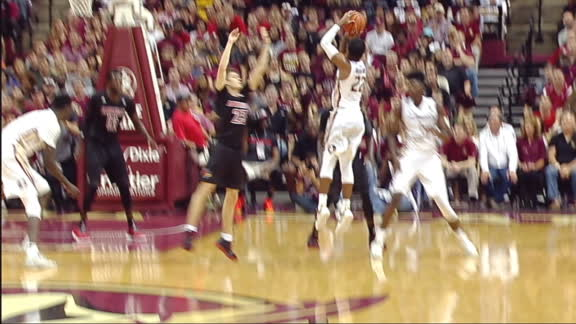 FSU answers Louisville surge with Rathan-Mayes 3-pointer