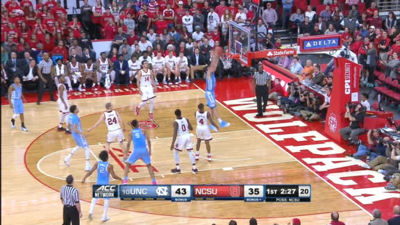 Maye sweet pump fake results in strong dunk