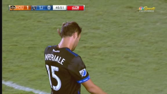 Imperiale concedes PK, receives red, then rescinded