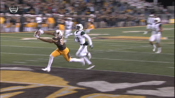 Wyoming strikes on first play of OT